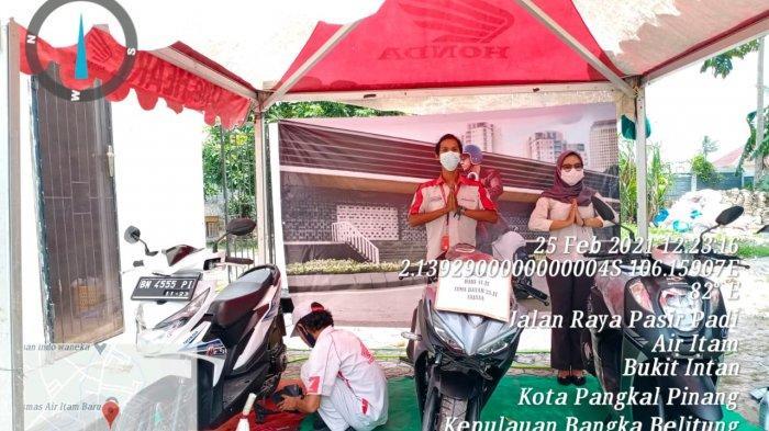 Dealer Honda NSS Pangkalpinang Gelar Servis Ekonomis di Kantor BPKH Wilayah XIII Pangkalpinang