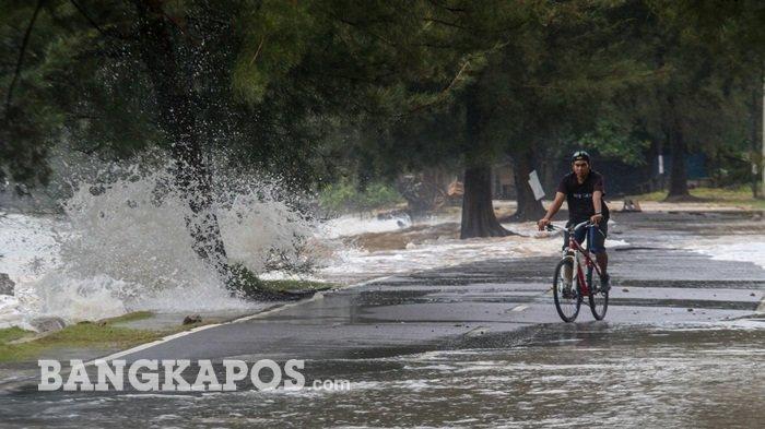 Cuaca Wilayah Bangka Belitung Mulai Cerah, BMKG Memprediksi Potensi Hujan Masih Ada
