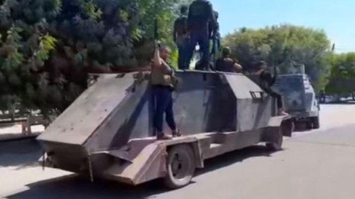 Geng Narkoba Meksiko Menakutkan, Polisi Sampai Angkat Tangan, Peralatan Tempurnya Bukan Ecek-ecek