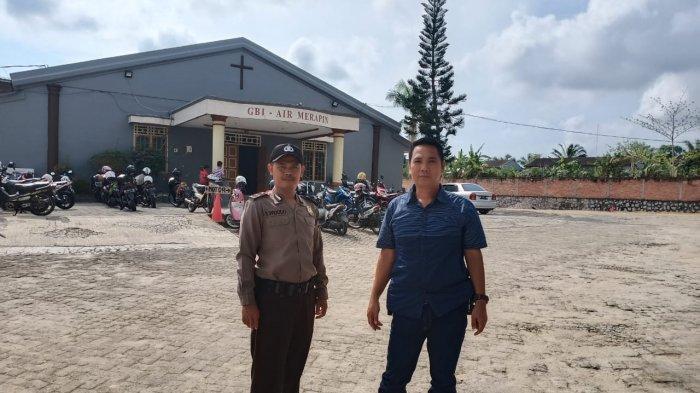 Polisi Perketat Penjagaan Gereja Antisipasi Munculnya Radikalisme di Bangka