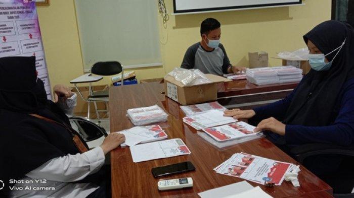 Selama 4 Hari Penyortiran, KPU Bateng Temukan 1.262 Lembar Surat Suara Rusak