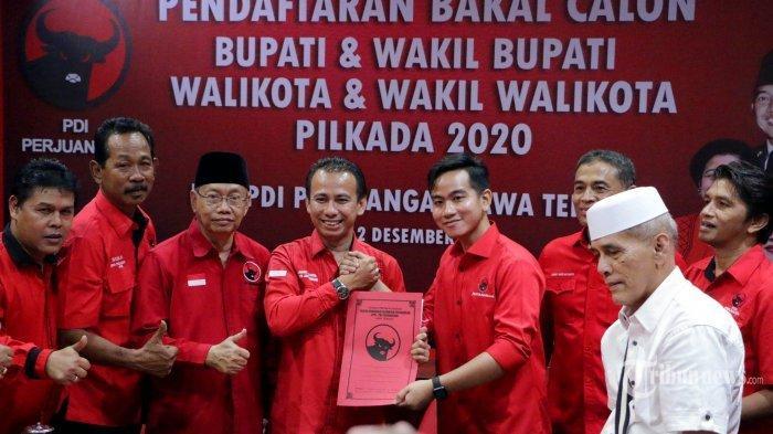 Gerindra Siap Usung Gibran Putra Jokowi Jika Tak Direkomendasi PDI-P Jadi Cawalkot Solo 2020