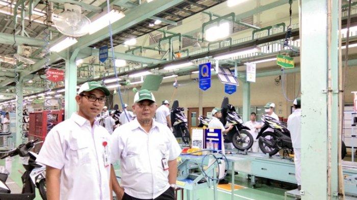 PT AHM Produksi Satu Unit Sepeda Motor Dalam 22 Detik