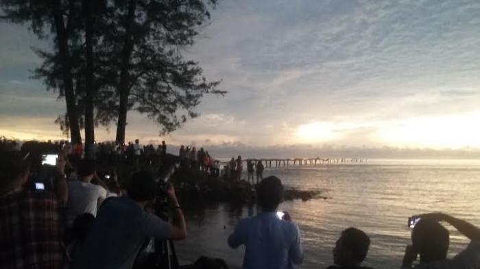 Heboh di Instagram dan Facebook, Dua Kali Suara Dentuman Misterius di Langit Sumatera Selatan