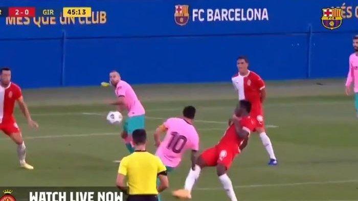 Gol Debut Indah Lionel Messi untuk Barcelona Era Ronald Koeman