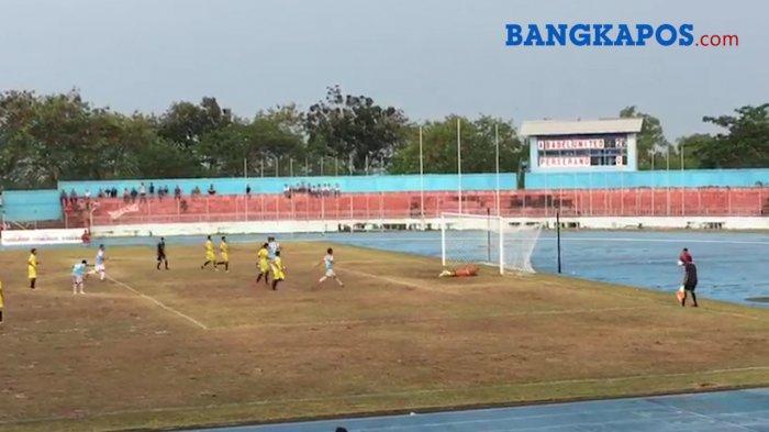 BREAKINGNEWS: Babel United Gunduli Perserang 4-0 Tanpa Balas