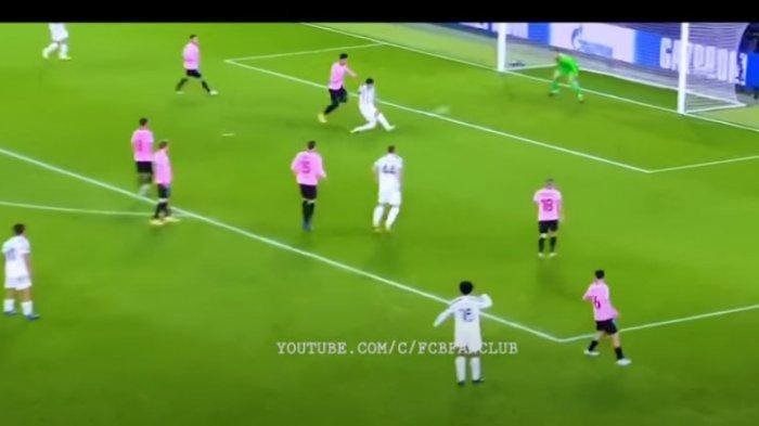 Gol Morata yang dianulir wasit karena offside