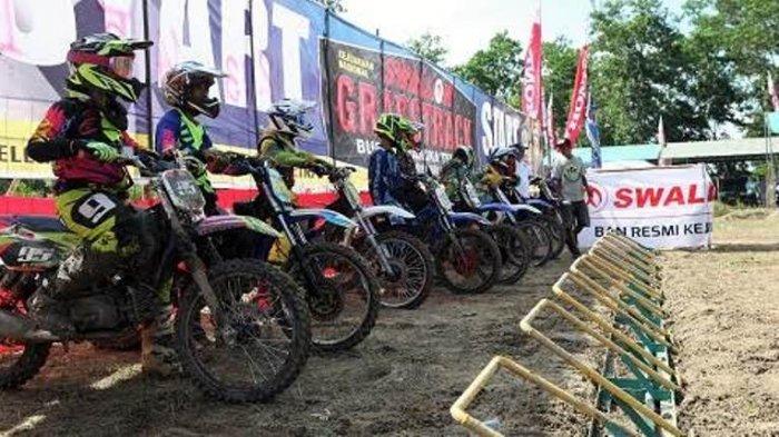 Bangka Tengah Sport Tourism 2017 Diawali Kejurnas Grasstrack