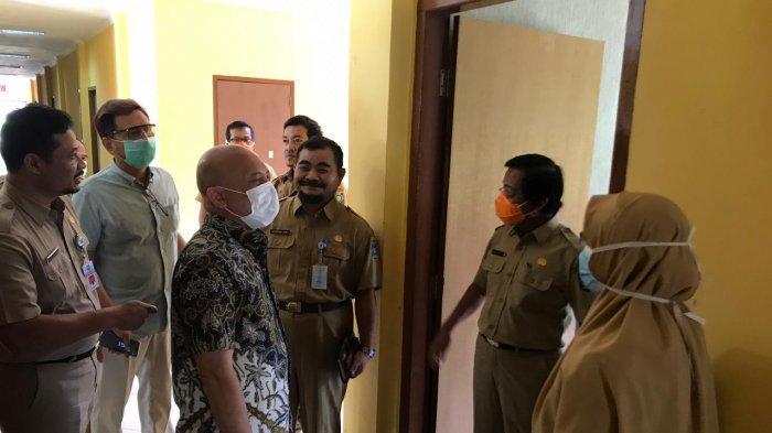 Persiapan Wisma Karantina, Wagub dan Ketua DPRD Babel Tinjau Lokasi