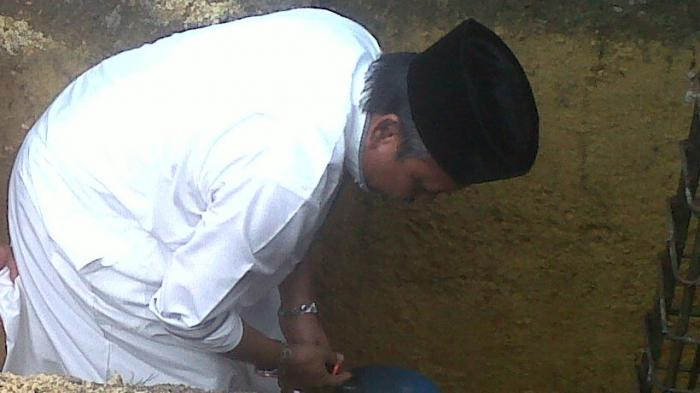 Gubernur Bantu Bangun Masjid Baru Desa Jelutung Rp 500 Juta