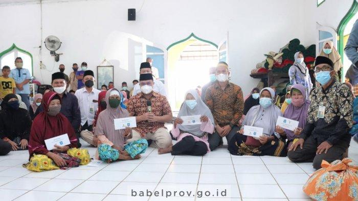 Pesan Gubernur Bangka Belitung ke Warga Desa Saing : Perbanyak Sedekah dan Makmurkan Masjid