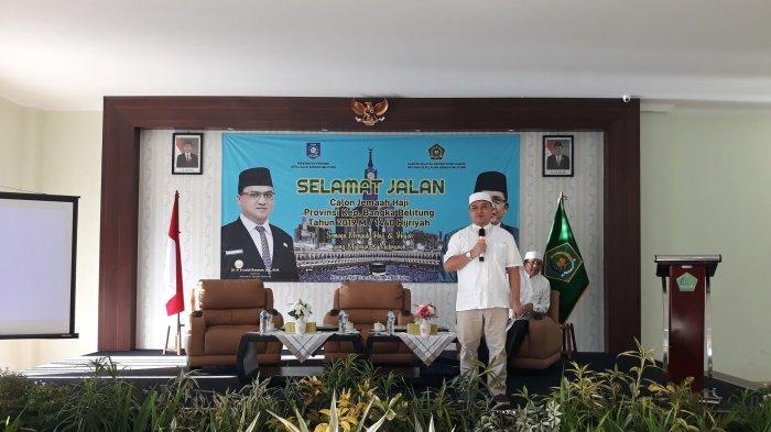 Gubernur Bangka Belitung Ingatkan Jemaah Calon Haji untuk Disiplin Waktu