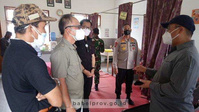Rabu Depan Mulai Dijadikan Isoter, Gubernur Tinjau SMK 2 Tanjungpandan