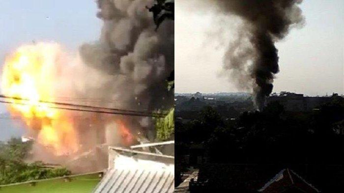 Gudang Senjata Brimob di Semarang Terbakar, Suara Ledakan Bikin Suasana Mencekam