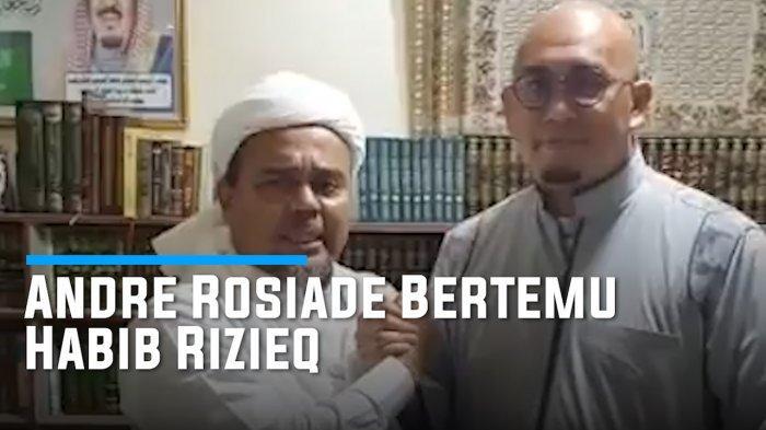 Video Habib Rizieq Titip Pesan ke Andre Rosiade Bongkar Kasus Jiwasraya: Selamatkan Uang Rakyat!