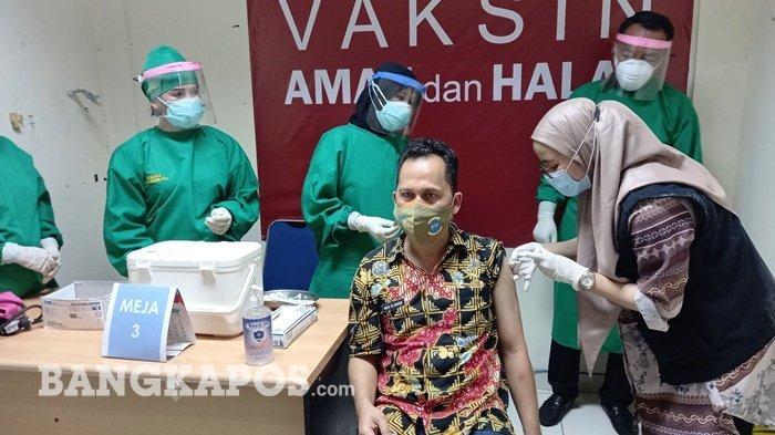 Penanganan Covid-19 Pangkalpinang Fokus Vaksinasi, Dinkes Gencar Lakukan Road Vaksin
