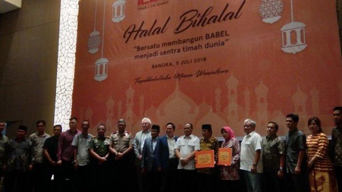 Halal Bihalal ICDX: Lamon Rutten Ajak Membangun Babel Menjadi Sentral Timah Dunia