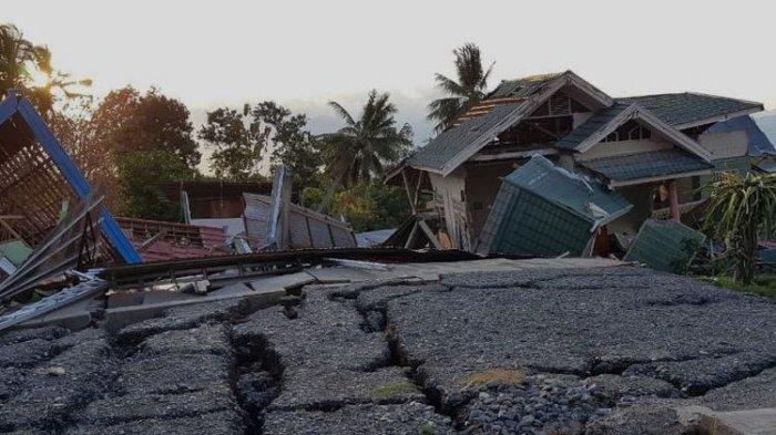 Gempa Palu Resmi Dinyatakan Fenomena Supershear Langka