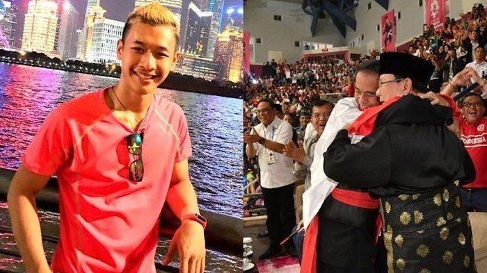 Hanifan Yudani Kusumah, Peraih Medali Emas Asian Games yang Bikin Jokowi dan Prabowo Berpelukan