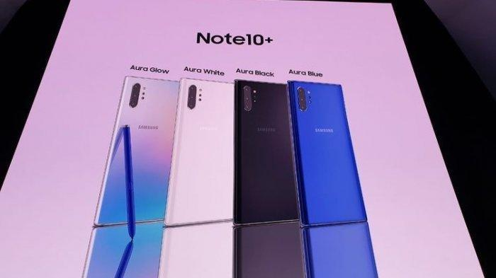 Inilah Harga Terbaru dan Terlengkap HP Samsung di Agustus 2019, Galaxy A10 hingga Galaxy Note 10