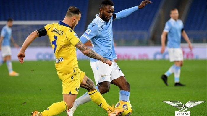Hasil Liga Italia, Lazio Dibungkam Verona, Makin Jauh dari AC Milan dan Juventus di Puncak Klasemen
