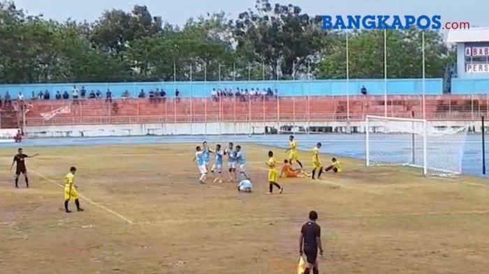 Hatrick Riski Novriansyah Bawa Babel United Unggul 4-0
