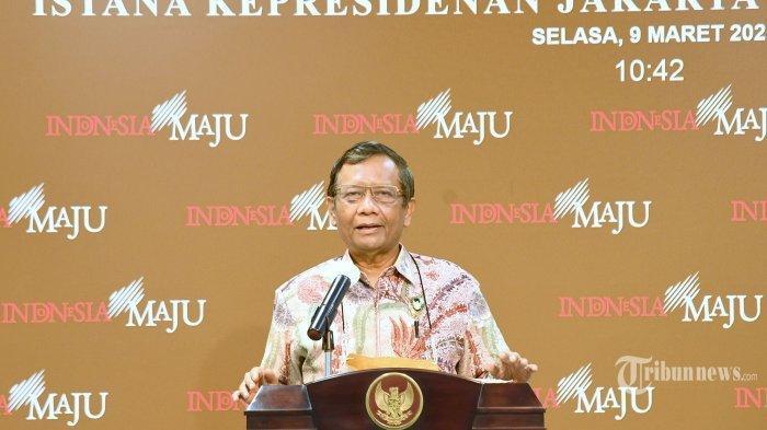 Moeldoko Terlibat Kudeta Demokrat, Mahfud MD Beberkan Reaksi Presiden Jokowi