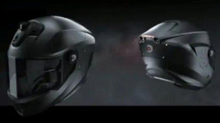 Helm Super Canggih, Ditanam Dua Kamera Belakang, Punya Fitur Perintah Suara Hingga Rekam Perjalanan