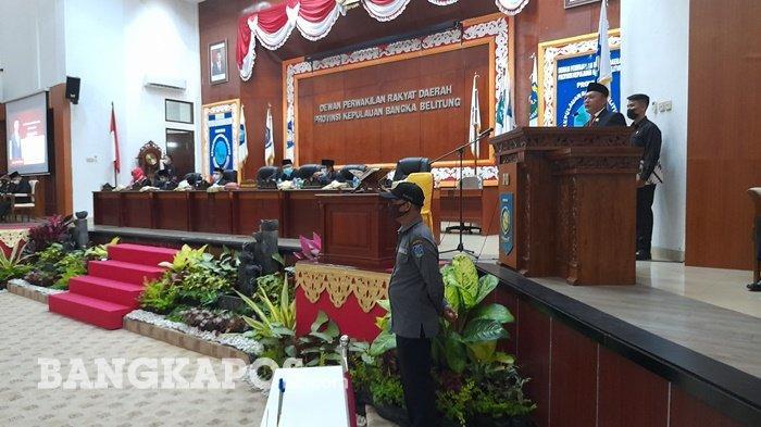 Herman Suhadi Mantan Penjual Pisang Molen, Akhirnya Resmi Dilantik Jadi Ketua DPRD Bangka Belitung