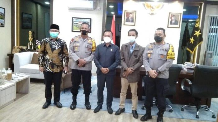 Pererat Silaturahmi, Ketua DPRD Bangka Belitung Berkunjung ke Mapolda Babel