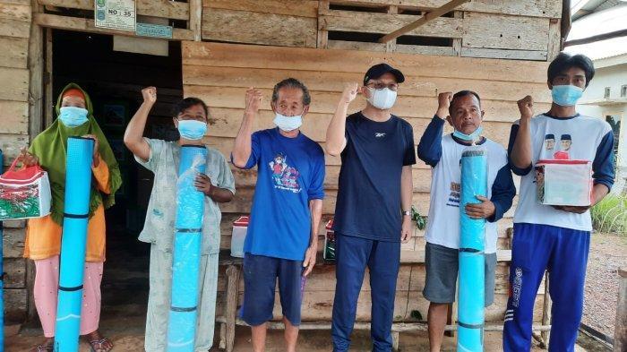 Beri Bantuan ke Korban BanjirDusun Nadi, Waga Apresiasi Gerak Cepat Algafry