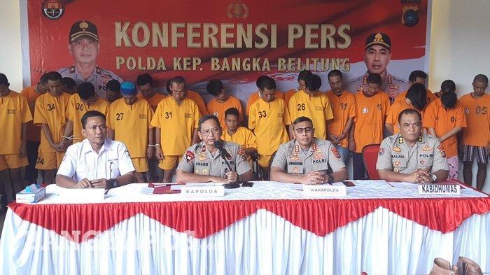 BREAKING NEWS : Kapolda Apresiasi Penangkapan Unyil, 2019 Polda Bangka Belitung Tangkap 57 Pencuri