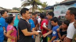 Pengusaha Muda Ini Bantu Korban Banjir Pangkalpinang