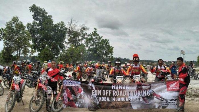 Fun Off Road Touring Bersama TEBASS, Honda CRF150L Taklukkan Rute Ekstrim di Bateng