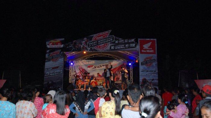 Honda Motor Show Sukses Hibur Masyarakat Lubuk Lingkuk