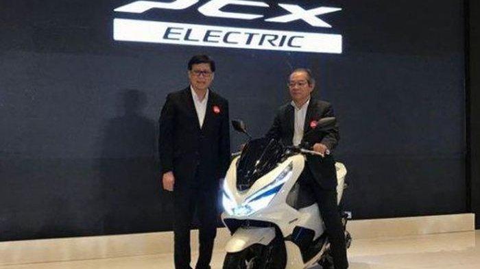 Jadi Motor Listrik Pertama Honda Untuk Indonesia, Honda Launching PCX EV, Ini Model dan Harganya