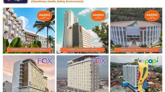 Tauzia Hotels Regional Sumatera raih Sertifikat CHSE,Fox Harris Hotel Pangkalpinang Satu Diantaranya