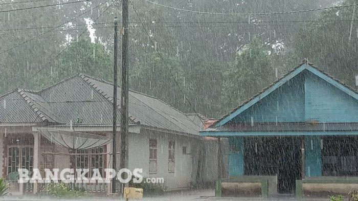 Cuaca Hari Ini Kota-kota yang Bakal Diguyur Hujan Pada Selasa 20 Oktober 2020