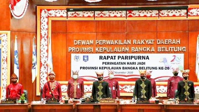 Pjs Bupati dan Pj Sekda Bangka Barat Hadiri Peringatan HUT ke-20 Provinsi Bangka Belitung