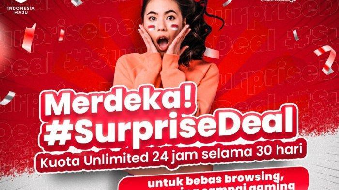 Peringatan Kemerdekaan ke-75 RI, Telkomsel Terus Bergerak Maju Bersama Indonesia Maju