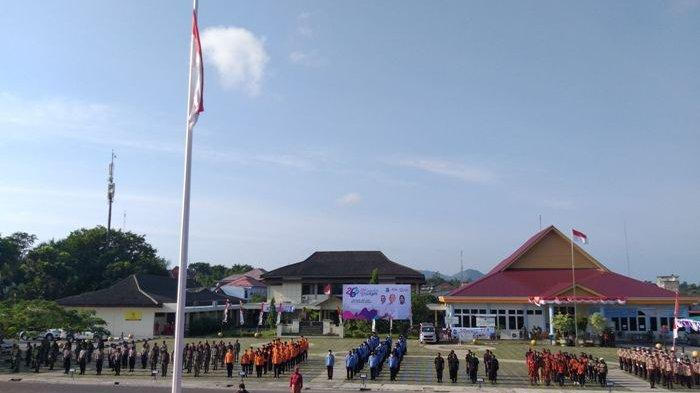 Upacara HUT ke-263 Kota Pangkalpinang, Wali Kota Minta Masyarakat Hargai Cita-cita Sejarah Masa Lalu