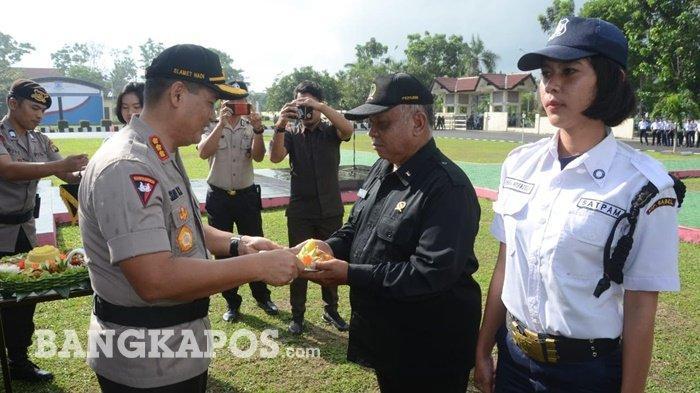 Peringati HUT Ke-39 Satpam, Ini Pesan yang Disampaikan Wakapolda Bangka Belitung