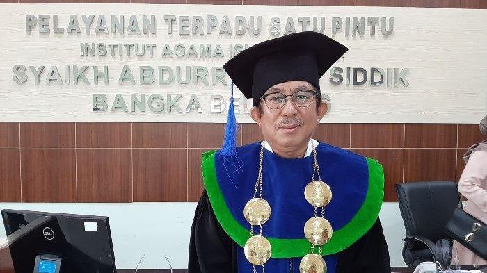 Rektor IAIN SAS Bangka Belitung Dr Zayadi