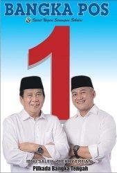 Peserta Pilkada Bangka Tengah, Ibnu Saleh-Herry Erfian