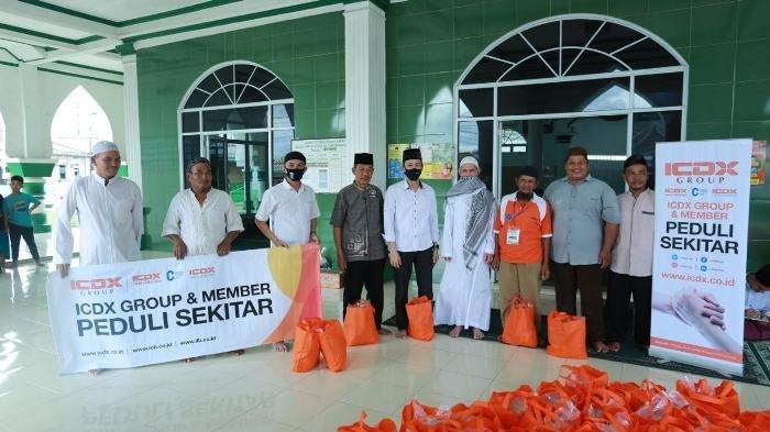 Momen Ramadan, ICDX Group & Patner Berikan Bantuan Paket Sembako untuk Warga Tak Mampu