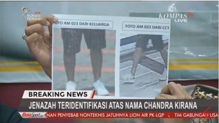 Korban Lion Air - Sepatu Candra dan Tato Monni Dikenali, Ada 272 Bagian Tubuh yang Diteliti