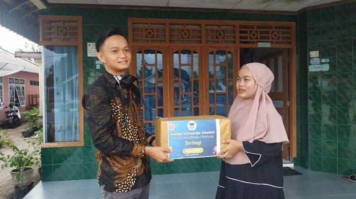 Peduli Alumni Terdampak Covid-19, IKA UBB Bagikan Paket Sembako Lebaran