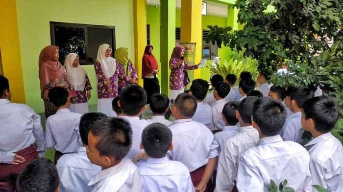 Cegah Pelecehan Seksual Terhadap Anak, Pengurus IKAD Bangka Lakukan Sosialisasi ke SD Muhammadiyah