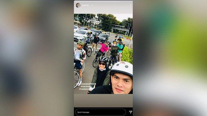 Ikke Nurjanah resmi dipersunting Karlie Fu pada Jumat (5/2/2021) kemarin.