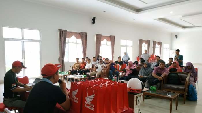 Pelatihan Jurnalistik Semakin Menarik Bersama Honda ASP